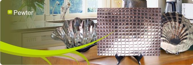 pewter home decor